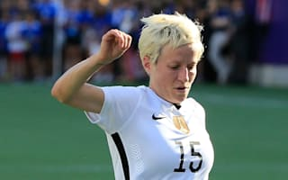 USA star Rapinoe follows Kaepernick's lead in anthem protest