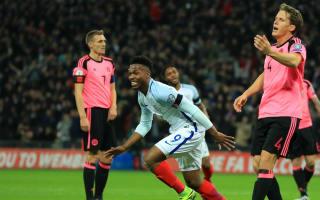 England 3 Scotland 0: Sturridge sets up routine victory
