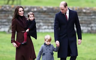 William: We want our children to express their feelings