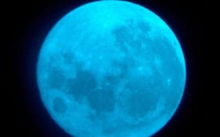 Look out for the blue moon tonight!