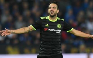 Fabregas hopes EFL brace shuts up critics