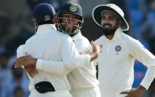 India cement grip on one-off Test