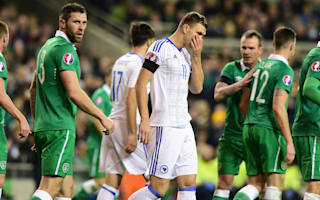Dzeko fumes at officials after play-off defeat