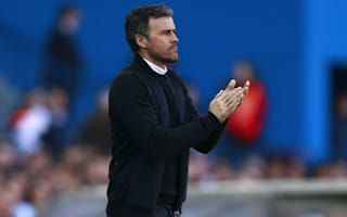 Luis Enrique happy to leave Atletico in Barca's dust