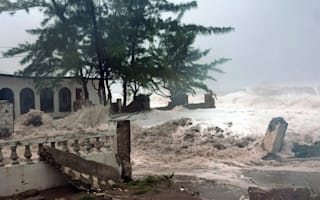British holidaymakers face Hurricane Sandy in Jamaica