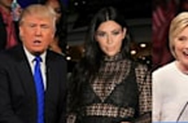 Kim Kardashian Clarifies Trump Comments & Declares Presidential Stance