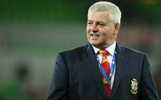 Gatland the front-runner for Lions role