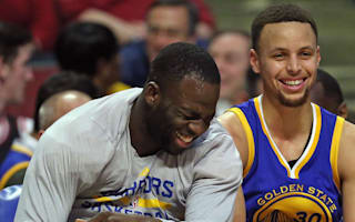 WATCH: Stephen Curry, Draymond Green show off moves with 'Dance Cam Mom'