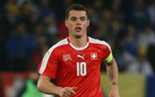 Xhaka sets Swiss target