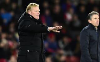 Koeman rues Everton profligacy after Southampton defeat