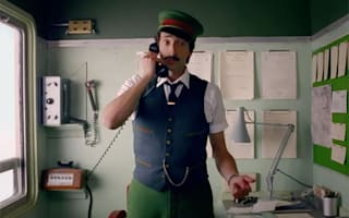 You have to see Adrien Brody in Wes Anderson's super-quirky Christmas advert for H&M