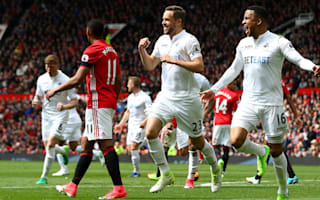 Manchester United 1 Swansea City 1: Sigurdsson deals damaging blow to Mourinho's top-four ambitions