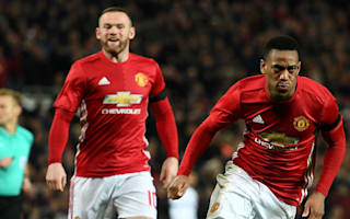 Manchester United 4 West Ham 1: Mourinho ban no problem for dominant hosts