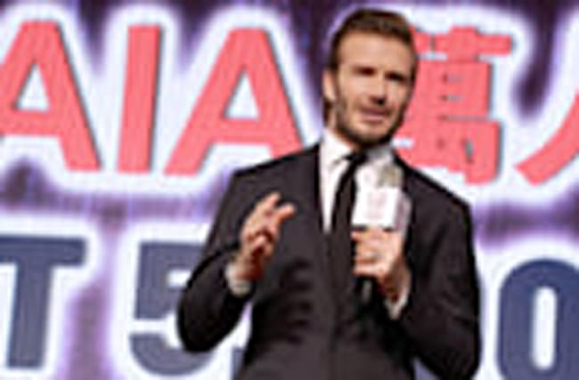 David Beckham Spent '48 Hours in China' and the Internet Is Not Happy