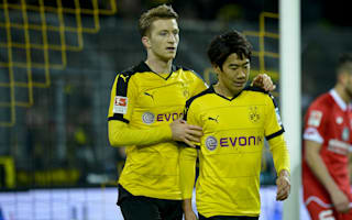 Borussia Dortmund 2 Mainz 0: Reus and Kagawa on target at subdued Signal Iduna Park