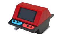 Esta increíble carcasa transformará tu Switch en una máquina arcade para 4 jugadores