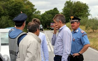 Rowan Atkinson rushes to aid of McLaren F1 driver after crash in Tuscany