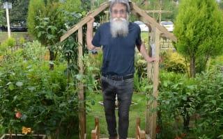Pensioner spends life savings building garden - is taken to court