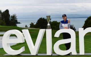 Record-breaking Chun claims Evian title