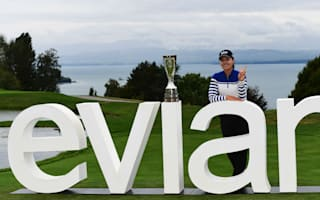 Record-breaking Chun claims Evian title