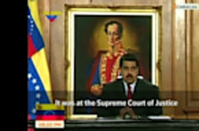 Venezuela says Supreme Court attacked from helicopter