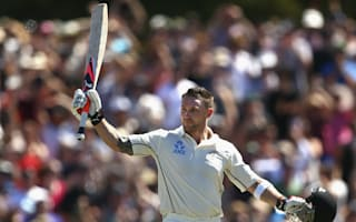Record-breaking McCullum stars on day one in Christchurch