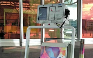 Could this robot put an end to airport check-in queues?