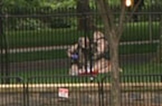 WH on Lockdown Due to Suspicious Package