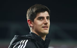 Courtois happy with Chelsea for now
