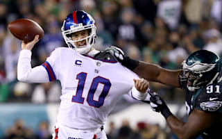 Manning struggles as Giants fail to clinch playoff berth