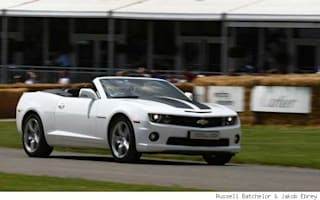 First Drive: Chevrolet Camaro Convertible at Goodwood