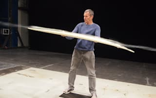 Mercedes creates surfboard for legendary big wave slayer Garrett McNamara