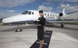 Fed up with Ryanair? Fly Guinness Class instead