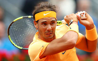 Nadal staggers over the line after racing out of the blocks in Madrid