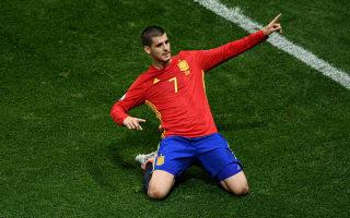 Spain 3 Turkey 0: Morata brace sends holders through