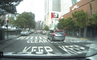 Dashcam captures Uber self-driving car running red light
