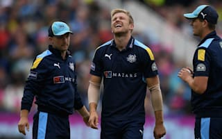 Willey given all clear for England duty