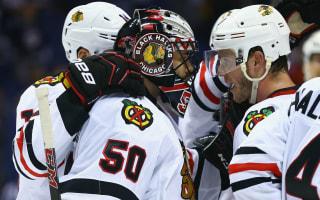 Blackhawks tie series, Lightning extend Red Wings advantage