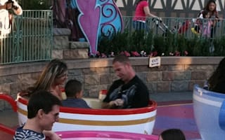 Tom Cruise gets Suri in a spin at Disneyland