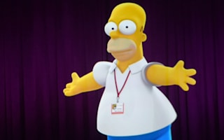 At last, Homer Simpson takes his place in Baseball Hall of Fame