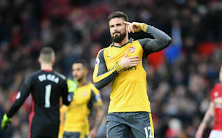 Old Trafford hero Giroud frustrated with bench role