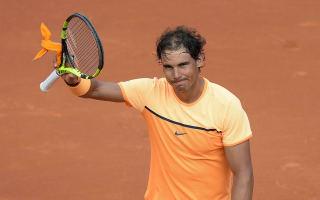Nadal, Nishikori cruise into Barcelona quarters