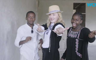Madonna 'overjoyed' after adopting twin sisters from Malawi