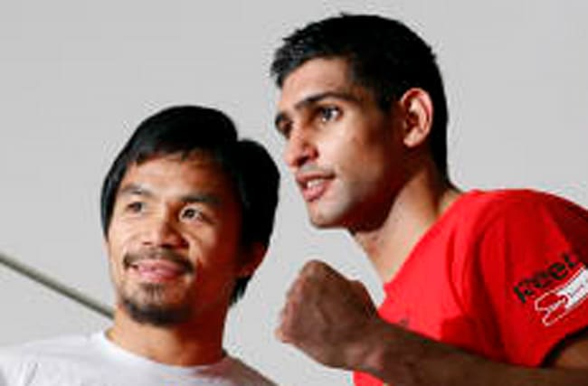 Pacquiao and Khan agree to terms for fight in April