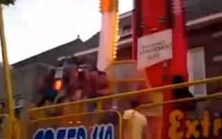 Horror at fairground as 50mph ride crashes into operator