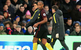 Kompany set to miss Gladbach clash