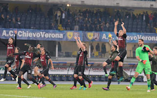 AC Milan 'keeping a low profile' in title race, says Montella