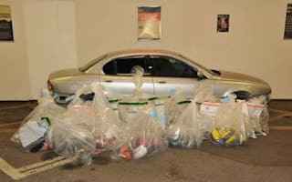 Seized Jaguar contained £40million of heroin