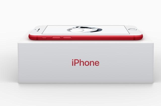 iPhone 7 (PRODUCT)RED, amor a primera vista pero... ¿por qué el frontal en blanco?