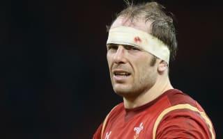 Wales lock Jones not sure when he will play again